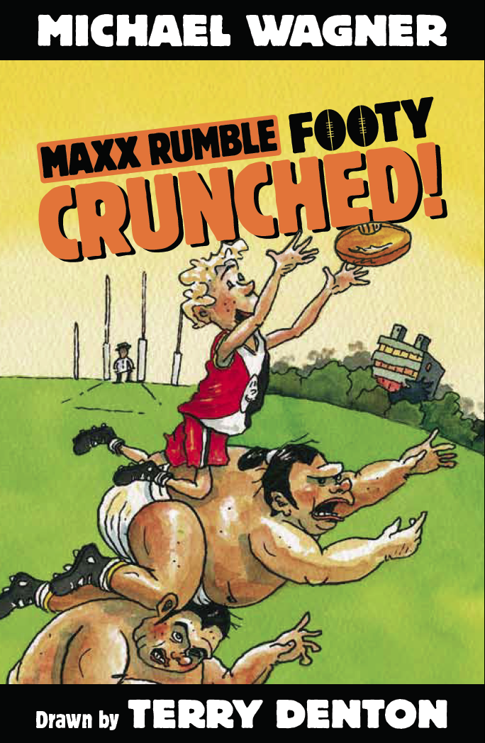 Maxx Footy BIG Crunched