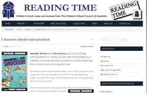 Reading Time review of Maxx Rumble Soccer