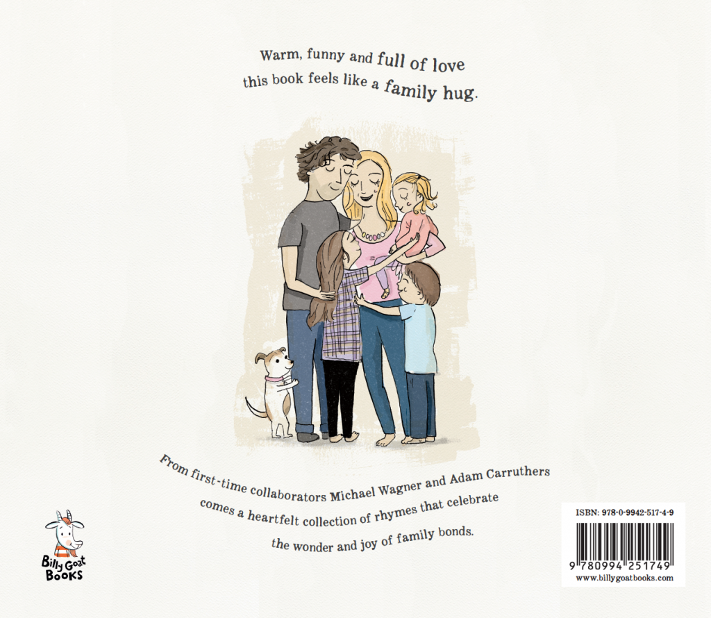 Family Hugs Back Cover