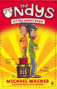 Cover of The Undys book 1: Let the Games Begin